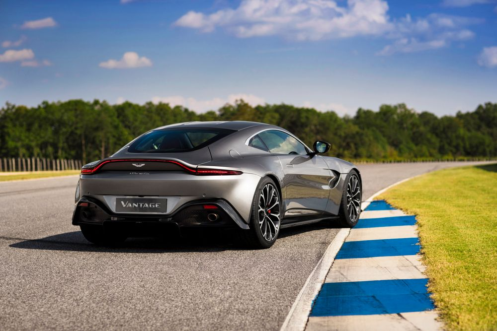 Here's A Look At Aston Martin's All New Vantage