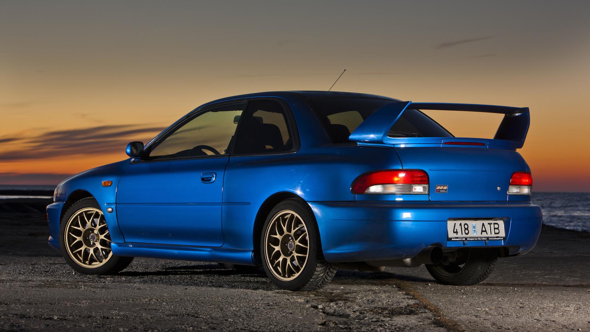 The Subaru Impreza 22b Sti A Rally Icon Garage Dreams