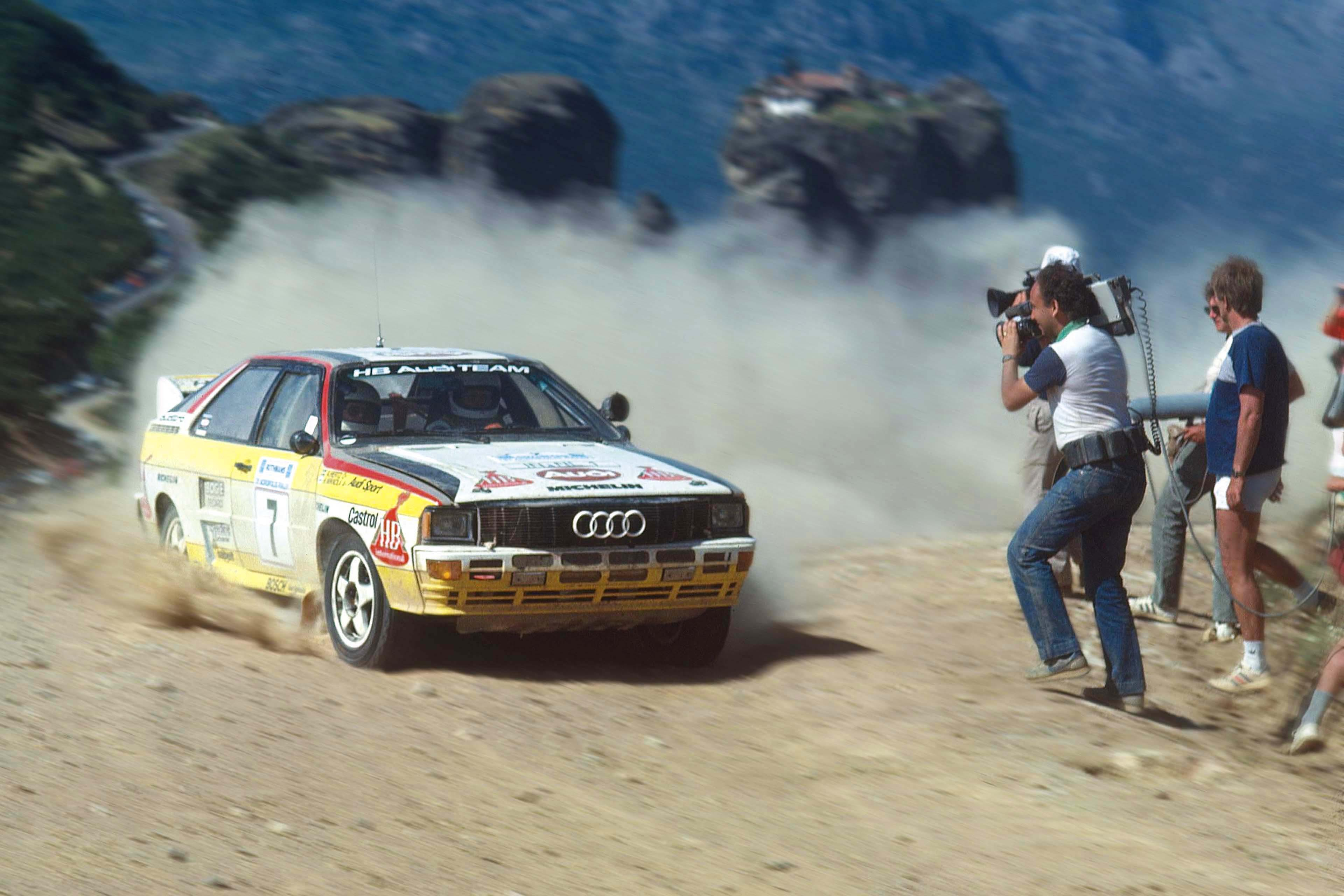 Here S Why The Audi Quattro Is A Rally Legend Garage Dreams