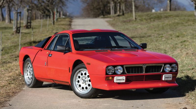 This Lancia 037 Rally Stradale Could Sell for $400,000 ...