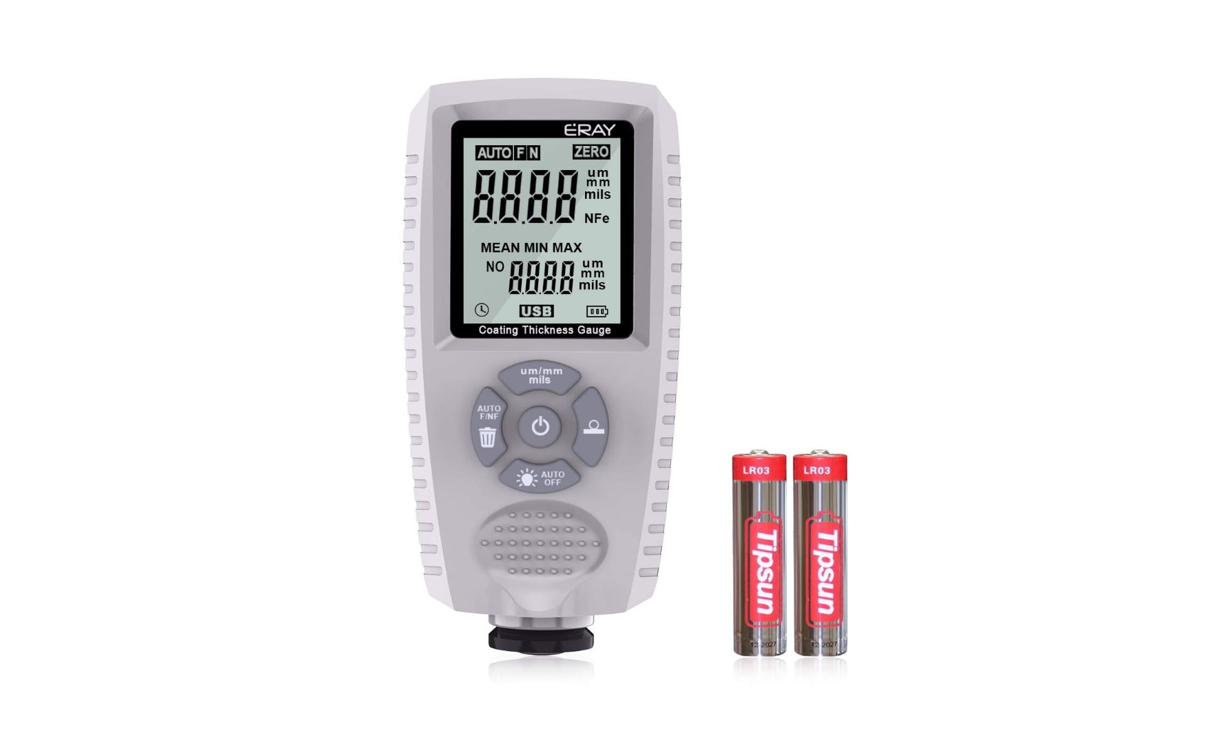 Paint Thickness GaugeBest Digital Meter for Automotive Coating Thickness T...